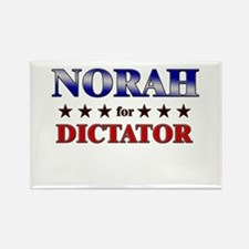 NORAH for dictator Rectangle Magnet