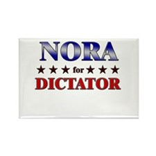 NORA for dictator Rectangle Magnet
