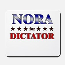NORA for dictator Mousepad