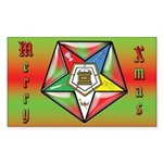 OES Stocking Stuffer Rectangle Sticker