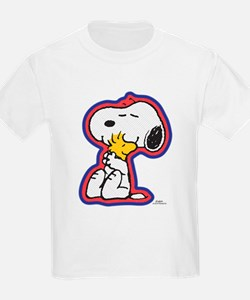 Peanuts Flair Woodstock and Snoopy T-Shirt