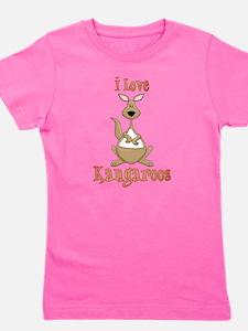 Cute Kangaroo Girl's Tee