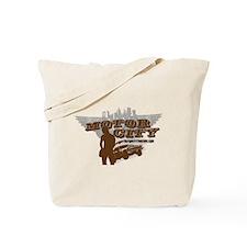 MOTOR CITY GRUNGE  Tote Bag