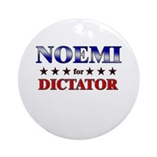 NOEMI for dictator Ornament (Round)