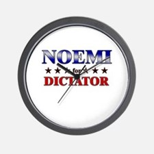 NOEMI for dictator Wall Clock