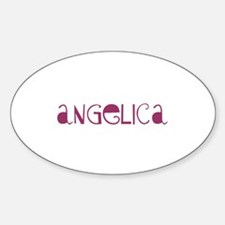 Angelica Oval Decal