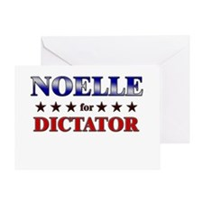 NOELLE for dictator Greeting Card