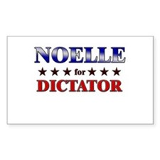 NOELLE for dictator Rectangle Decal