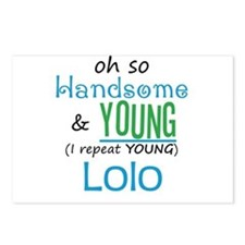 Handsome and Young Lolo Postcards (Package of 8)