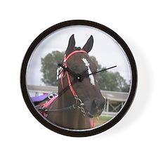 Standardbred horse Wall Clock