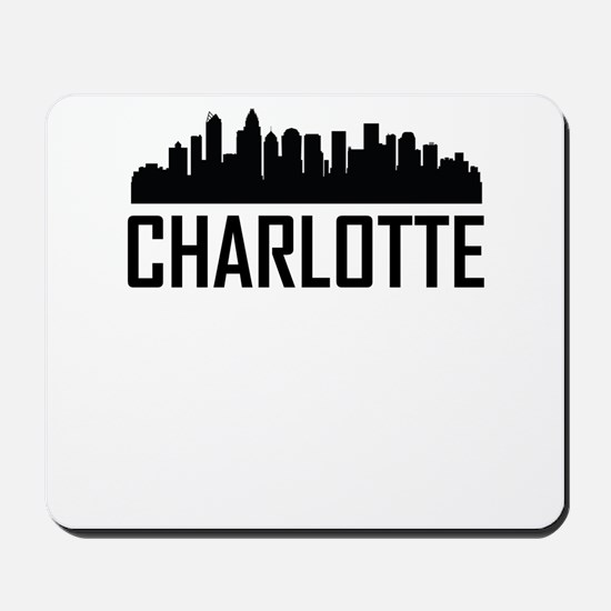 Skyline of Charlotte NC Mousepad
