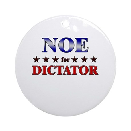 NOE for dictator Ornament (Round)