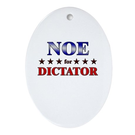 NOE for dictator Oval Ornament