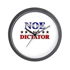 NOE for dictator Wall Clock