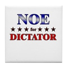 NOE for dictator Tile Coaster