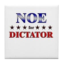 NOE for dictator Tile Coaster