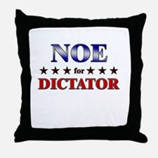 NOE for dictator Throw Pillow