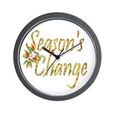 Season's Change Wall Clock