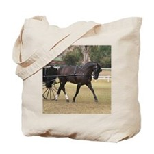Funny Standardbred horse Tote Bag
