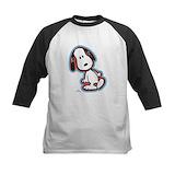 Snoopy peanuts Baseball T-Shirt