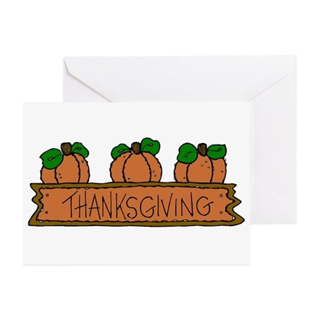 Pumpkins Thankgiving Greeting Cards (Pk of 20)