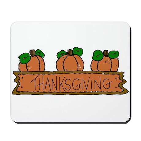 Pumpkins Thankgiving Mousepad
