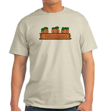 Pumpkins Thankgiving Light T-Shirt
