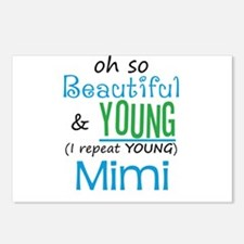Beautiful and Young Mimi Postcards (Package of 8)