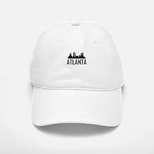 Skyline of Atlanta GA Baseball Baseball Baseball Cap