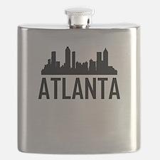 Skyline of Atlanta GA Flask