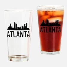 Skyline of Atlanta GA Drinking Glass