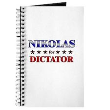 NIKOLAS for dictator Journal