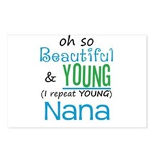 Beautiful and Young Nana Postcards (Package of 8)