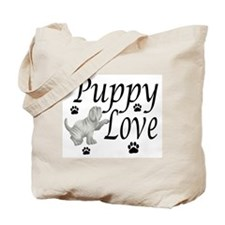 Neapolitan Mastiff Puppy Love Tote Bag