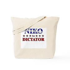 NIKO for dictator Tote Bag