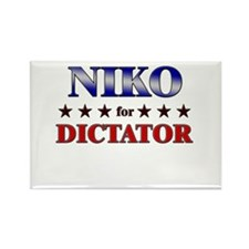 NIKO for dictator Rectangle Magnet