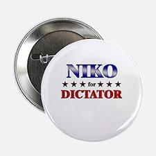"NIKO for dictator 2.25"" Button"