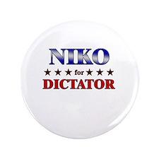 "NIKO for dictator 3.5"" Button"