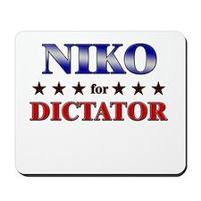 NIKO for dictator Mousepad
