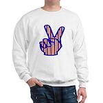 Patriotic Peace Sign Sweatshirt