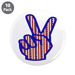 Patriotic Peace Sign 3.5