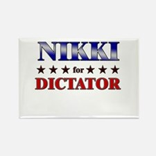 NIKKI for dictator Rectangle Magnet