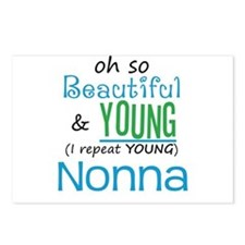 Beautiful and Young Nonna Postcards (Package of 8)