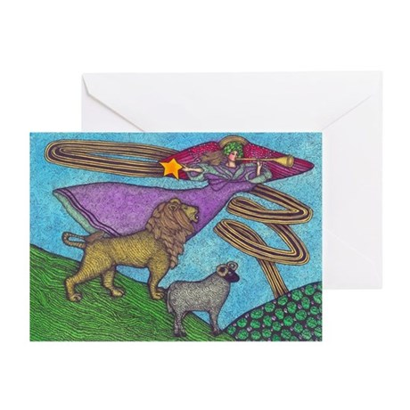 The Lion and The Lamb Greeting Cards (Pk of 10)