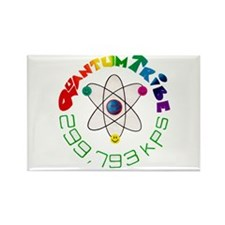 Quantum Tribe Rectangle Magnet