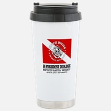 President Coolidge Travel Mug