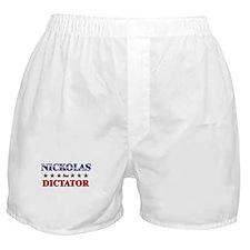 NICKOLAS for dictator Boxer Shorts