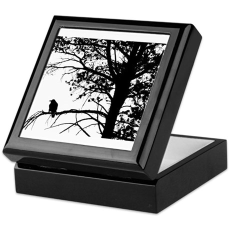 Raven Thoughts Keepsake Box