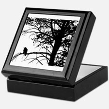 Raven Thoughts Keepsake Box