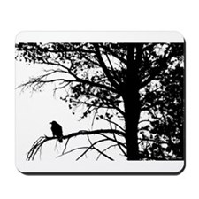 Raven Thoughts Mousepad